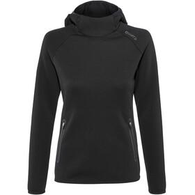 Craft Emotion Hood Sweatshirt Women black
